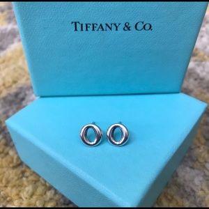 """Tiffany & Co. Sevillana """"O"""" Earrings."""